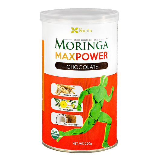 MORINGA MAX POWER CHOCOLATE, 200g