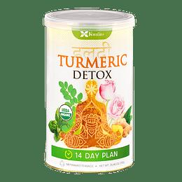 Turmeric Detox, Cúrcuma Detox, Plan 14 días