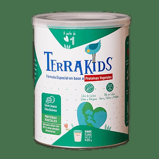 TerraKids Bebida Nutritiva Vegetal para niños desde 1 año  420g