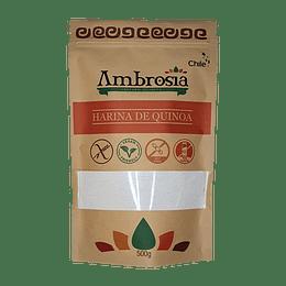 Harina de Quinoa, Sin gluten, 500g - Ambrosia