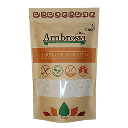 Harina de Amaranto sin Gluten 500g - Ambrosia