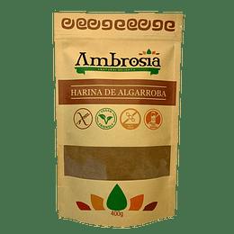 Harina de Algarroba 400g sin gluten  Ambrosia