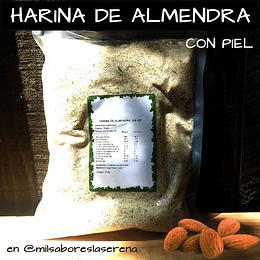 Harina De Almendras Con Piel, 250g, Positiv