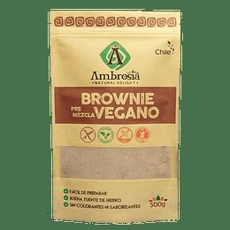 Premezcla Brownie Sin gluten Vegano 500g