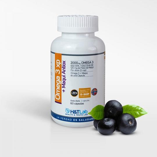 Omega 3XP + Maqui Antioxidantes (60 cápsulas)