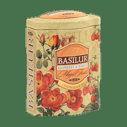 Té Frambuesa Grosella Caja Metálica - Basilur Raspberry & Roseship