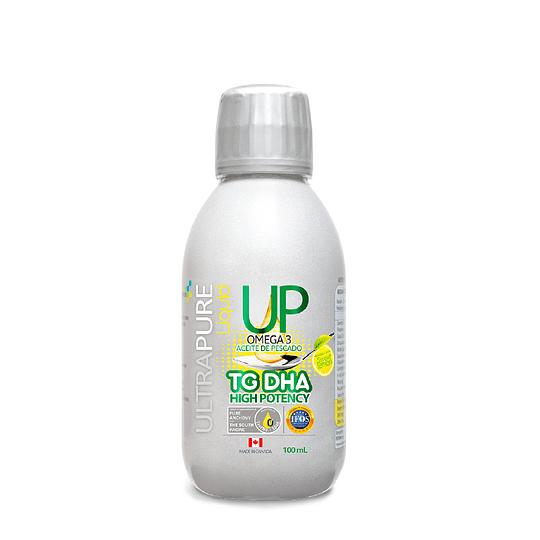 Omega 3 líquido, Omega UP Liquid TG DHA High Potency (100ml)