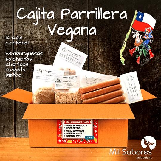 Cajita parrillera vegana, 1kg