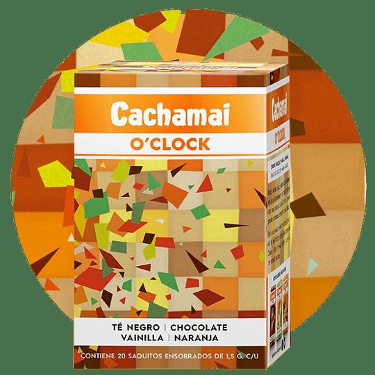 Té negro sin gluten, con chocolate, vainilla y naranja - Cachamai O'clock