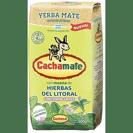 Cachamate Hierbas del Litoral con lemon grass 500g