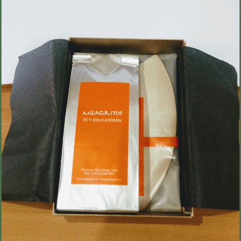 Caja café y filtro de papel