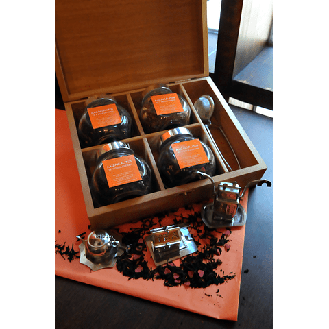 Caja de madera nativa 4 tipos
