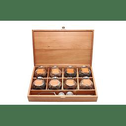 Caja de madera nativa 8 tipos