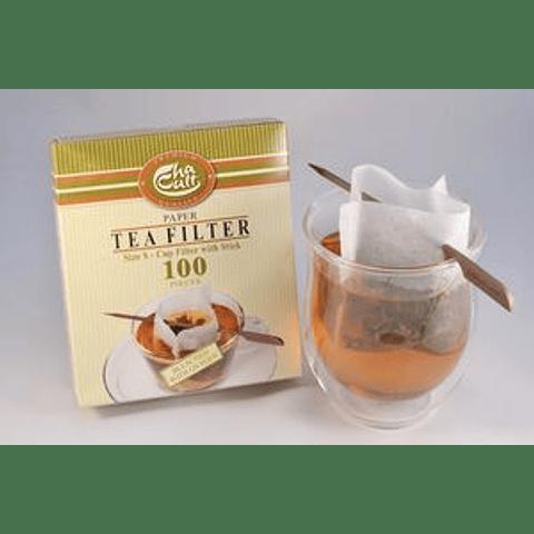 Filtro de papel taza/palo