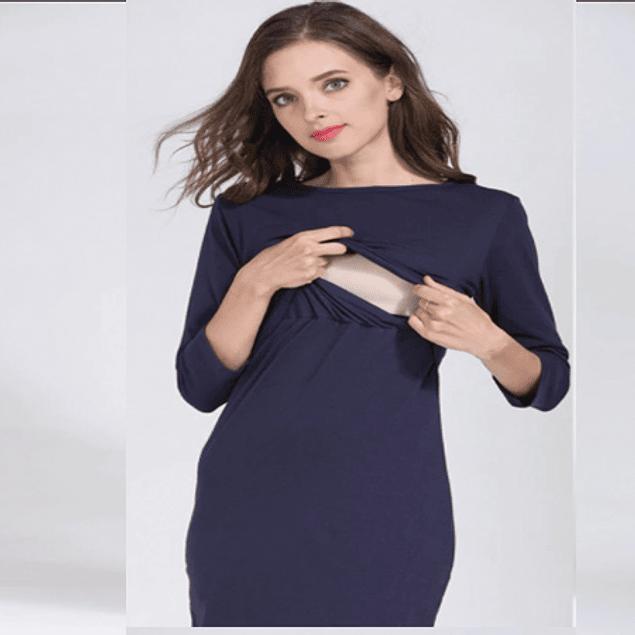 Vestido Lactancia y Embarazo Mariana