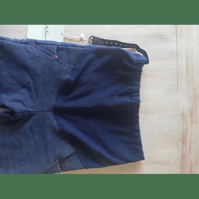 Jeans Bea / forro polar.