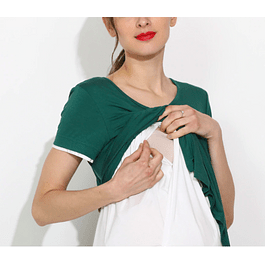 Polera Lactancia & Embarazo Francisca Green