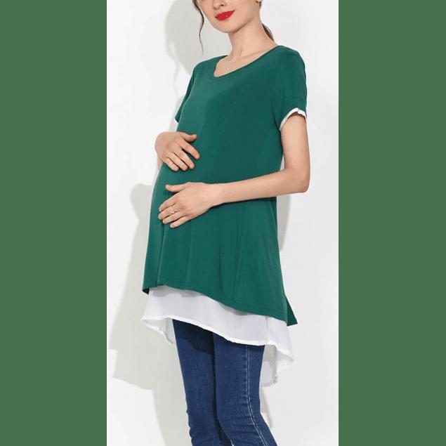 Polera Lactancia & Embarazo Francisca Green