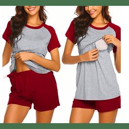 Pijama Estrella Red Embarazo & Lactancia