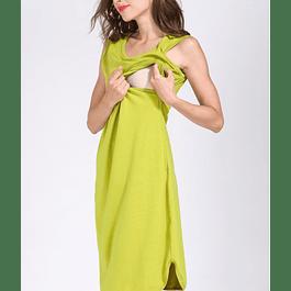 Vestido Victoria Verde Embarazo & Lactancia