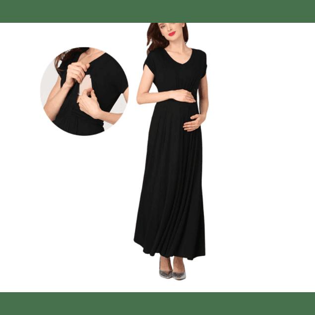 Vestido Lucía Black  Embarazo & Lactancia