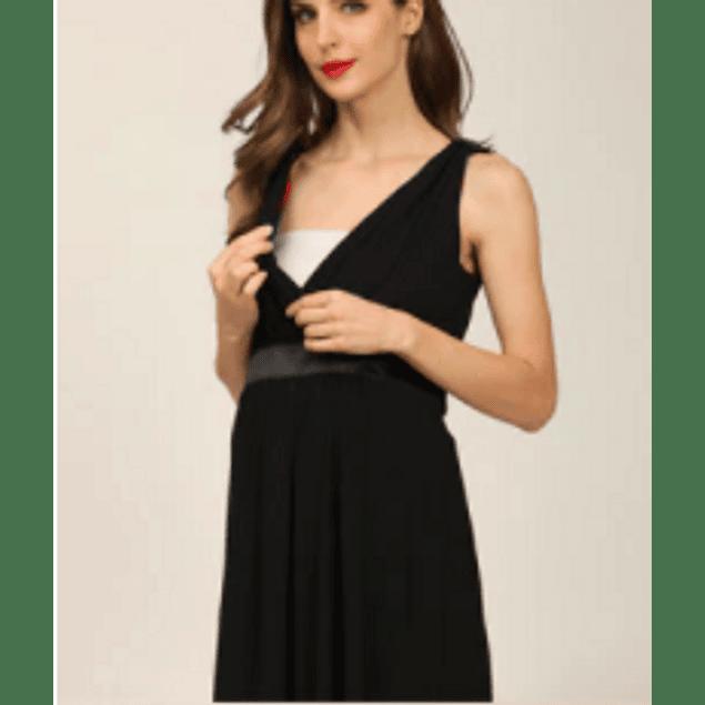 Vestido fiesta Cleo  Black Embarazo & Lactancia
