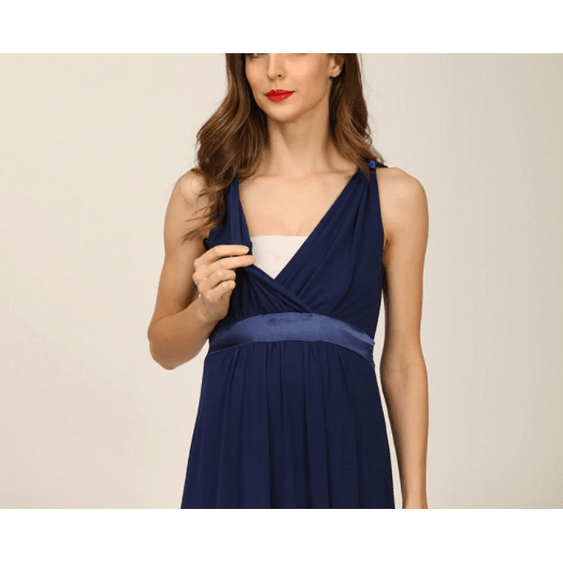 Vestido fiesta Cleo  Blue  Embarazo & Lactancia