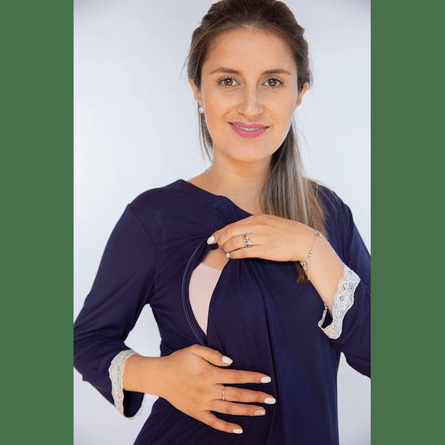 Pijama Antonia Blue Lactancia y Embarazo