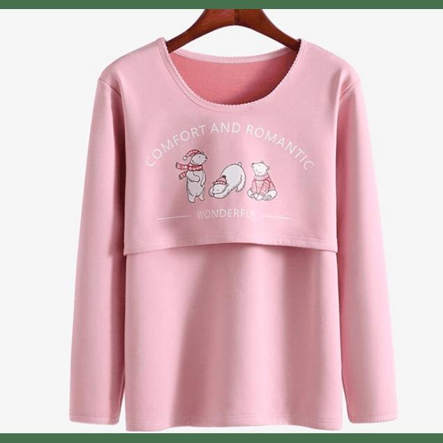Pijama Emilia Invierno Lactancia & Embarazo