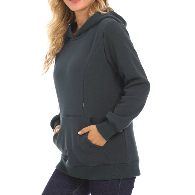 Polerón Carmen Embarazo & Lactancia Verde