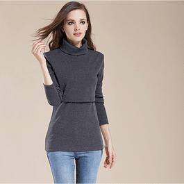 Sweater Beatriz Lactancia y Embarazo Gris