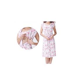 Vestido Andrea Rosado Embarazo & Lactancia