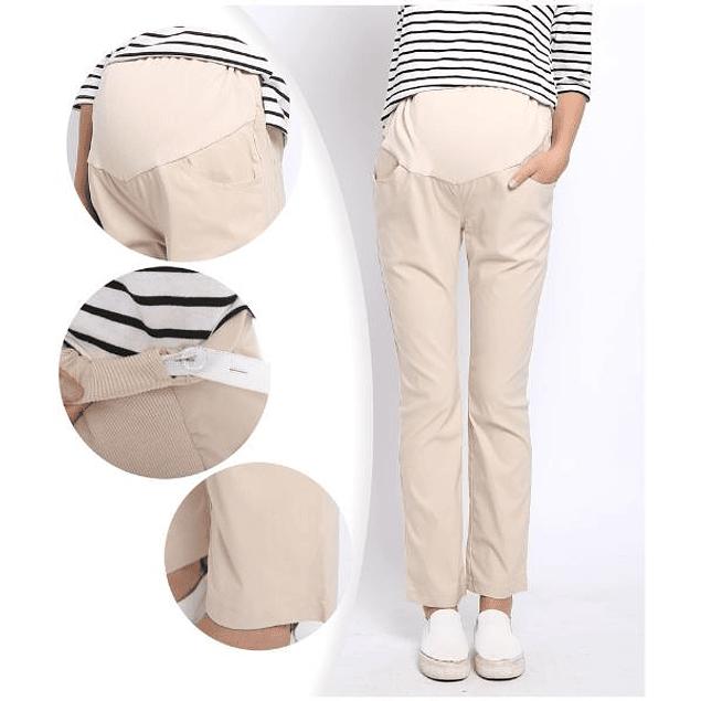 Pantalones Clara Ivory