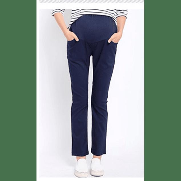 Pantalones Casual Clara Azul