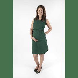 Vestido Victoria Verde  Dark Embarazo & Lactancia
