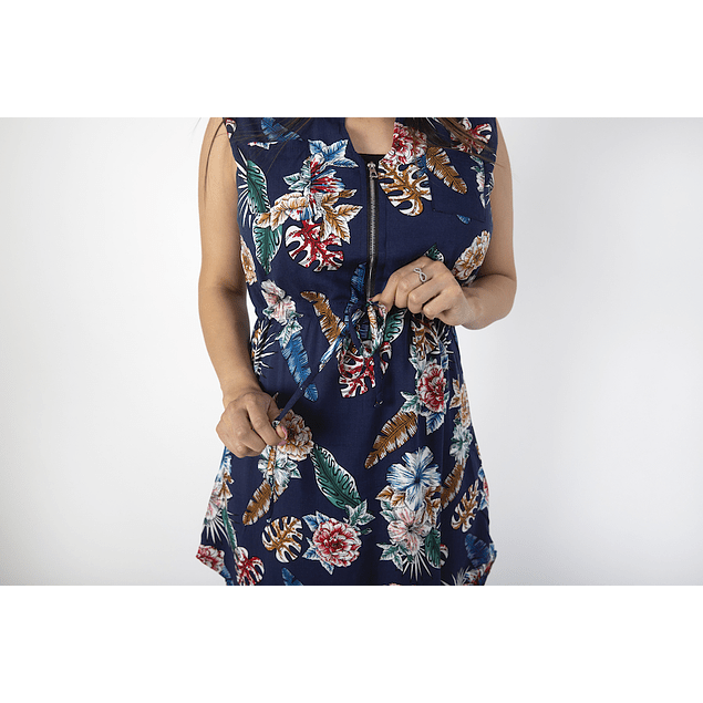 Vestido Francisca Azul  Embarazo & Lactancia