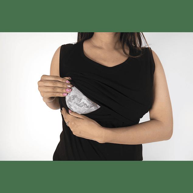 Polera Embarazo & Lactancia Fran Black