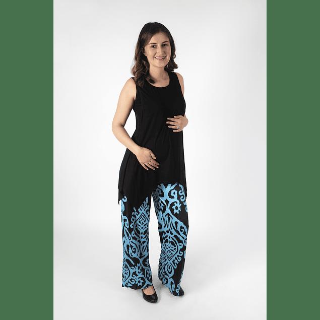 Polera Embarazo & Lactancia Mariela Dark