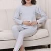 Pijama Sara Sky Blue  Embarazo & Lactancia