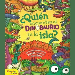 ¿Quién encuentra al dinosaurio en la isla?