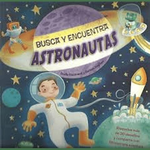 Busca y encuentra: Astronautas