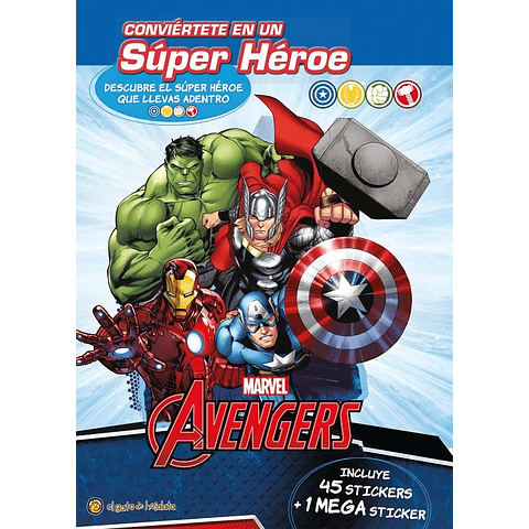 Conviertete en un super heroe - avengers