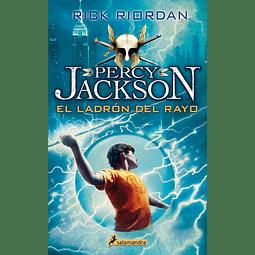 Percy Jackson. Dioses del Olimpo I: El ladrón del rayo (Rick Riordan)