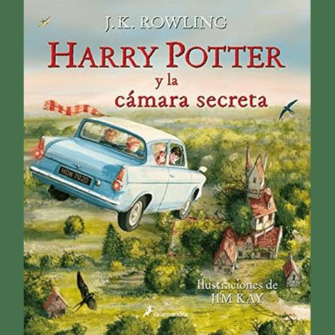 Harry Potter y la cámara secreta ilustrado (J.K.Rowling)