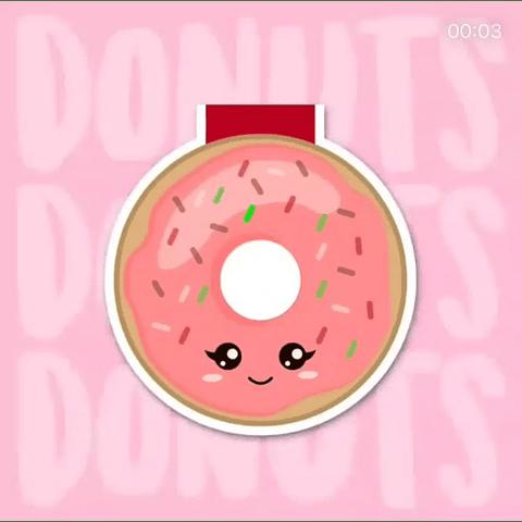 Marcador Donut