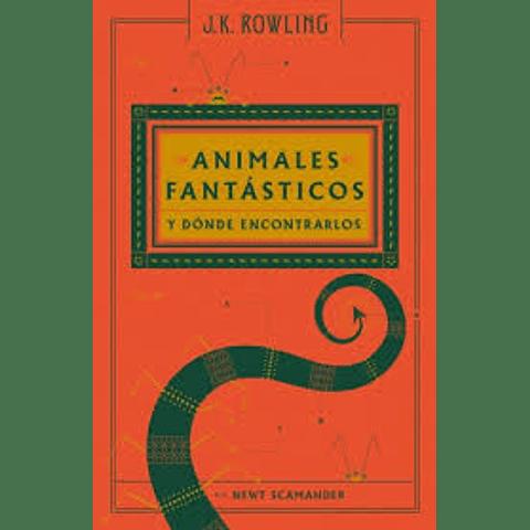 Animales fantásticos y donde encontrarlos (Newt Scamander)