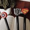 Lápices superhéroes