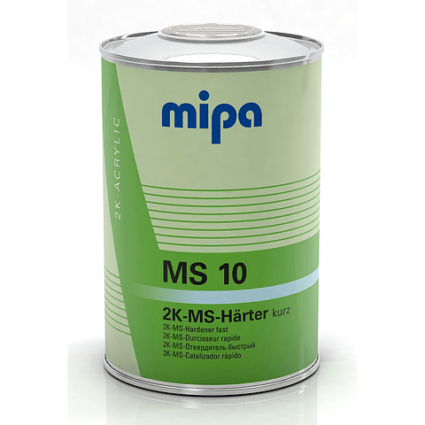 Catalizador MS10 0,976 Lt color Transparente