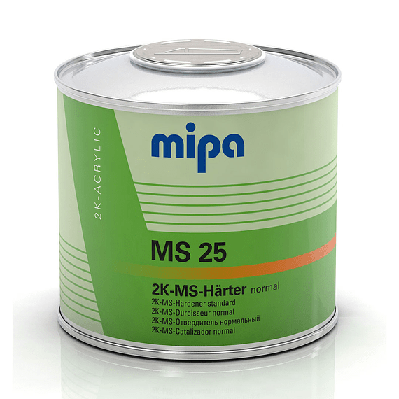 Catalizador MS25 0,5 Lt color Transparente