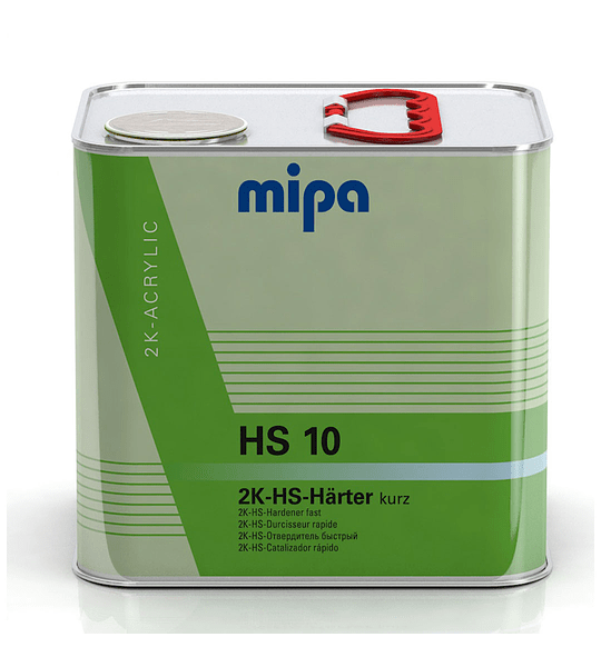 Catalizador HS10 2,5 Lt color Transparente
